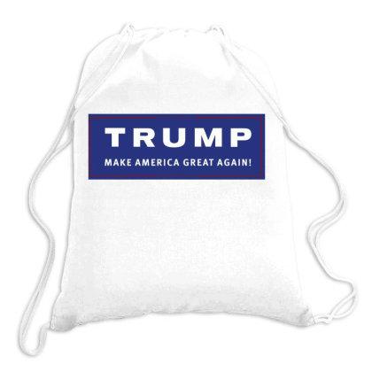 Trump, Make America Great Again! Drawstring Bags Designed By Estore