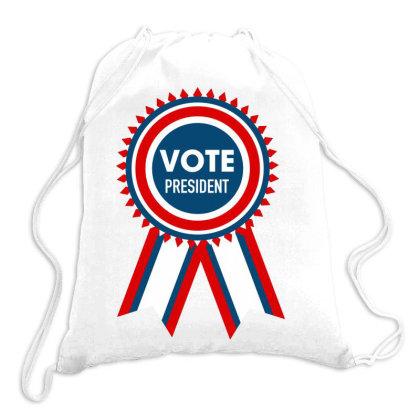 Vote President Drawstring Bags Designed By Estore