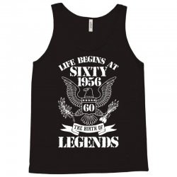 Life Begins At Sixty 1956 The Birth Of Legends Tank Top | Artistshot