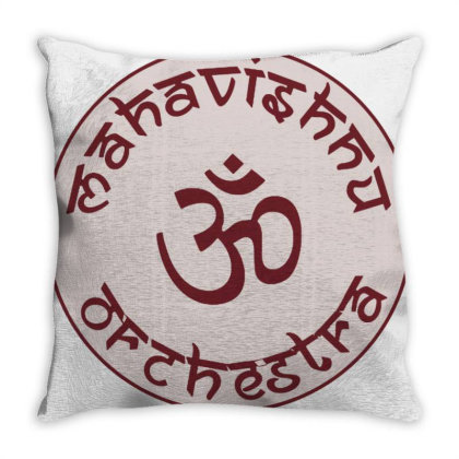 Mahavishnu Orchestra Merch Throw Pillow Designed By Ari Restanto