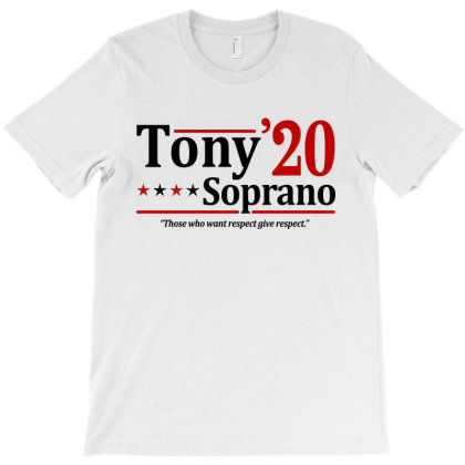 Tony Soprano 2020 Election T-shirt Designed By Firework Tess
