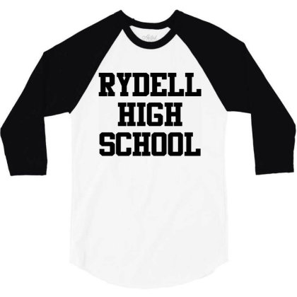 Rydell High School 3/4 Sleeve Shirt Designed By Mito220