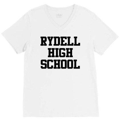 Rydell High School V-neck Tee Designed By Mito220