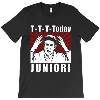 T T T  Today Junior T-shirt Designed By Firework Tess