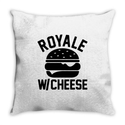 Royal With Cheese Throw Pillow Designed By Mito220