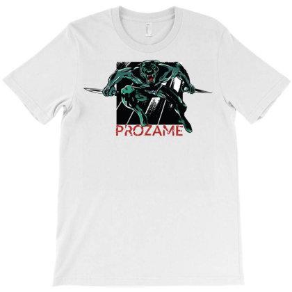Panter Fighter T-shirt Designed By Zizahart