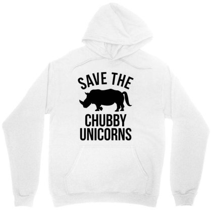 Save The Chubby Unicorns Unisex Hoodie Designed By Mito220