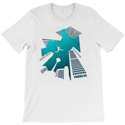 Parkour T-shirt Designed By Zizahart