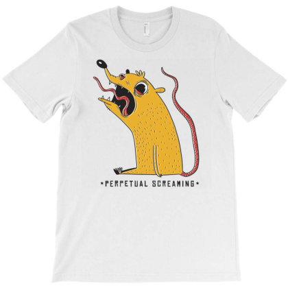 Perpetual Screaming T-shirt Designed By Zizahart