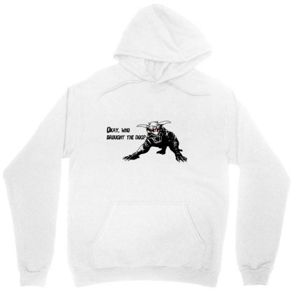 Who Brought The Dog Unisex Hoodie Designed By Firework Tess