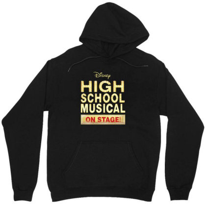 High School Musical On Stage Unisex Hoodie Designed By Barbaras