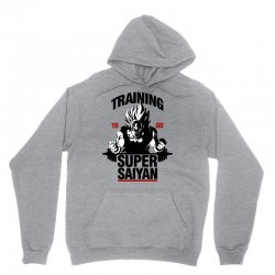 training-to-go-super-saiyan Unisex Hoodie | Artistshot
