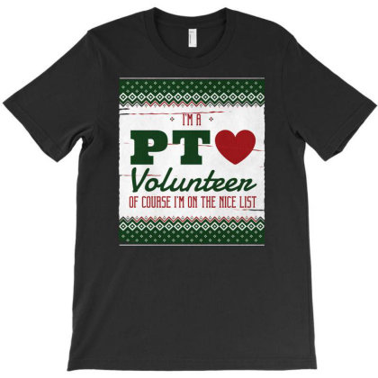 Physical Therapy Volunteer T-shirt Designed By Zizahart