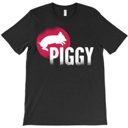 Piggy T-shirt Designed By Zizahart