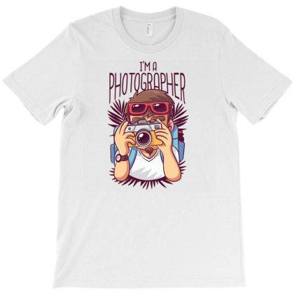 Photographer Cartoon T-shirt Designed By Zizahart