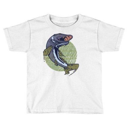 Pike Fish Toddler T-shirt Designed By Zizahart