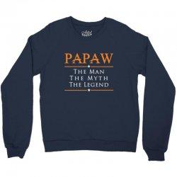 Papaw - PAPA - Grandfather - granddad Crewneck Sweatshirt | Artistshot