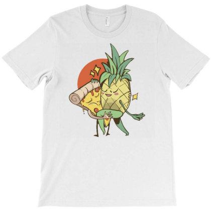 Pineapple Pizza Forbidden Love T-shirt Designed By Zizahart