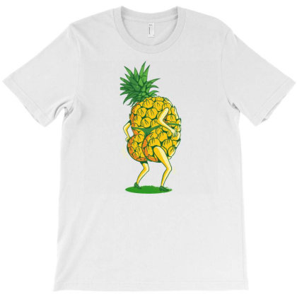 Pineapple Dancing T-shirt Designed By Zizahart