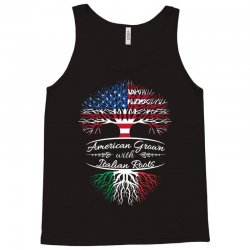 American grown with Italian roots Tank Top | Artistshot