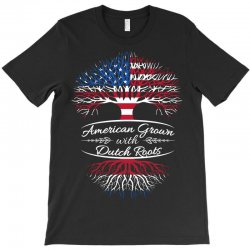 American grown with Dutch roots T-Shirt | Artistshot