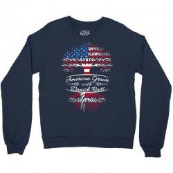 American Grown with Danish roots Crewneck Sweatshirt | Artistshot