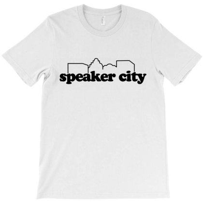 Speaker City T-shirt Designed By Mito220