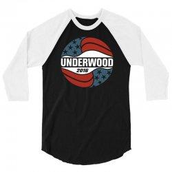 Underwood 2016 3/4 Sleeve Shirt | Artistshot
