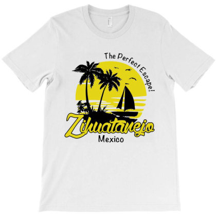 Zihuatanejo Mexico T-shirt Designed By Mito220
