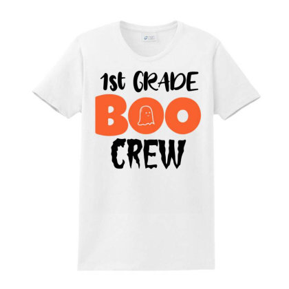 1st Grade Boo Crew For Light Ladies Classic T-shirt Designed By Sengul
