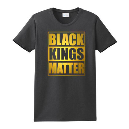 Black Kings Matter Ladies Classic T-shirt Designed By Kakashop