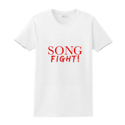 Song Fight! Ladies Classic T-shirt Designed By Alparslan Acar