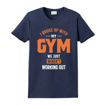I Broke Up With My Gym We Just Weren't Working Out Ladies Classic T-shirt Designed By Cidolopez