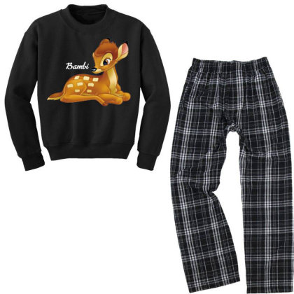 Bambi Men Youth Sweatshirt Pajama Set Designed By Nhan0105
