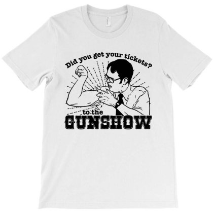 The Dwight Schrute Gun Show T-shirt Designed By Mito220