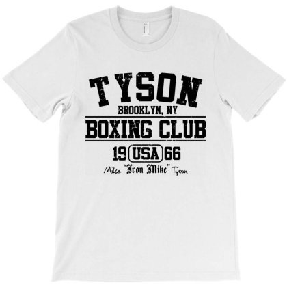 Tyson Boxing Club T-shirt Designed By Mito220