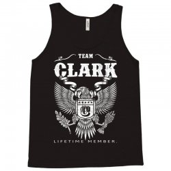Team Clark Lifetime Member Tank Top   Artistshot