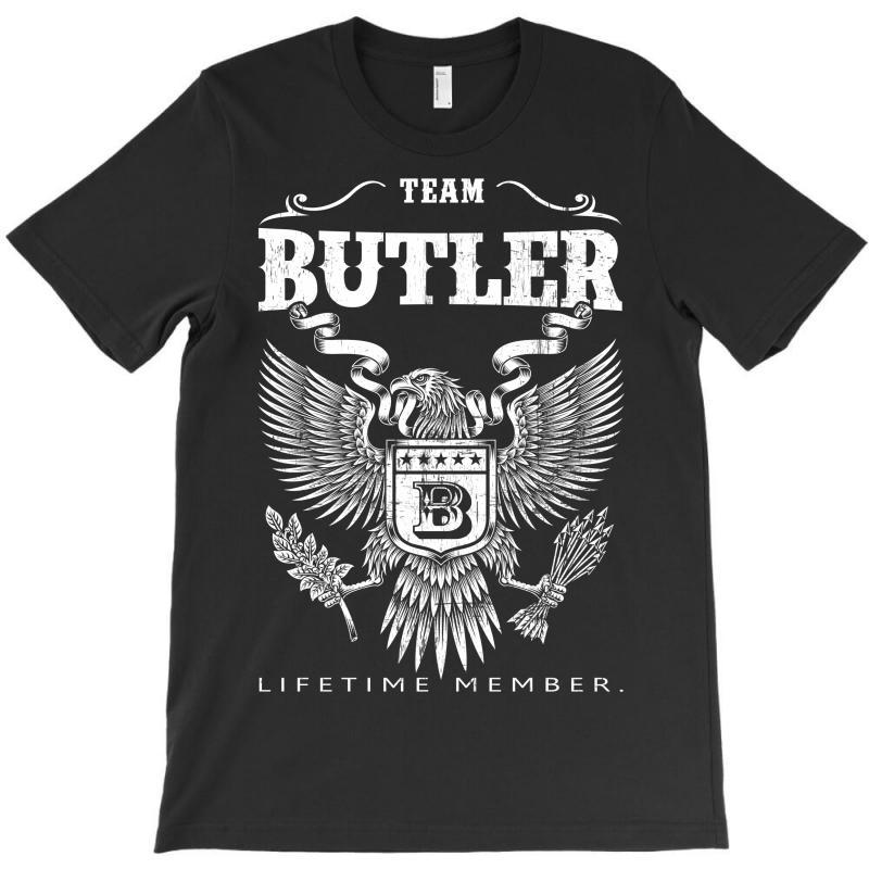 Team Butler Lifetime Member T-shirt   Artistshot