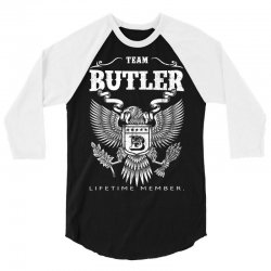 Team Butler Lifetime Member 3/4 Sleeve Shirt   Artistshot