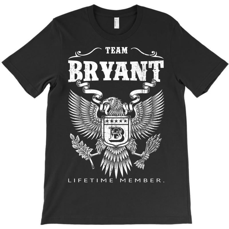 Team Bryant Lifetime Member T-shirt | Artistshot