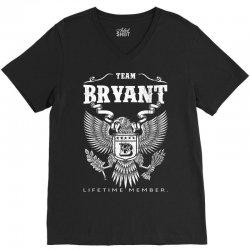 Team Bryant Lifetime Member V-Neck Tee | Artistshot
