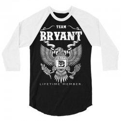 Team Bryant Lifetime Member 3/4 Sleeve Shirt | Artistshot