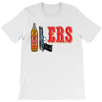 40 9 Ers 40oz 9mm Drink T-shirt Designed By Dyona Asmarani