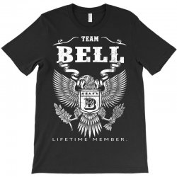 Team Bell Lifetime Member T-Shirt | Artistshot