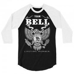 Team Bell Lifetime Member 3/4 Sleeve Shirt | Artistshot