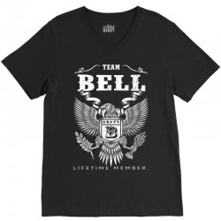 Team Bell Lifetime Member V-Neck Tee | Artistshot