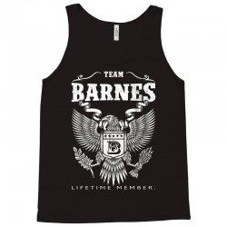 Team Barnes Lifetime Member Tank Top | Artistshot