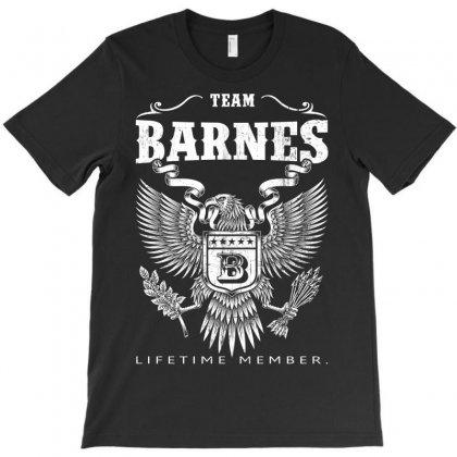 Team Barnes Lifetime Member T-shirt Designed By Davidph