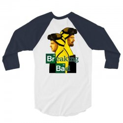 Breaking Bad 3/4 Sleeve Shirt | Artistshot