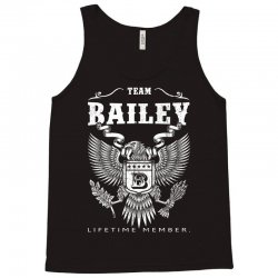 Team Bailey Lifetime Member Tank Top | Artistshot